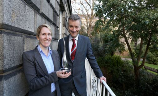 Co-founder of Cellix wins Trinity Innovation Award