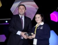 SFI Special Award Winner at BT Young Scientist Exhibition