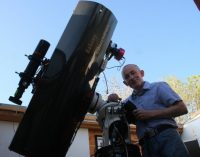 Irishman discovers third Supernova from observatory in his back garden.