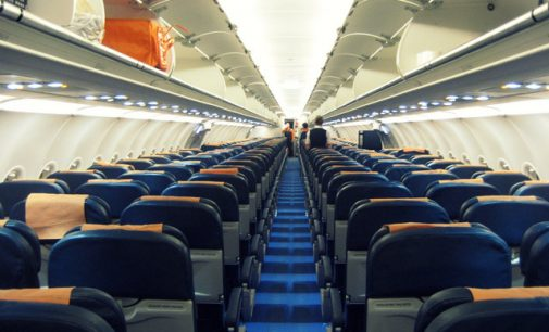 Harmful bacteria can linger on airplane seats and armrests for days
