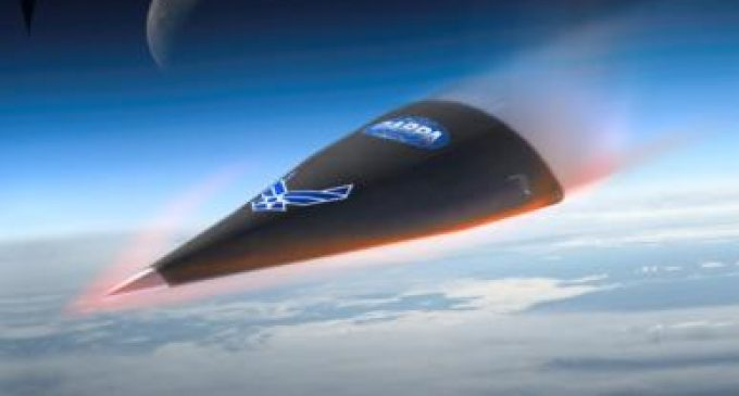 US hypersonic space weapon goes up in smoke