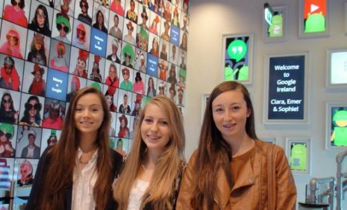 Three Irish schoolgirls win Google Science Fair