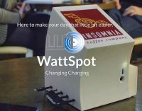 Two IADT students making low phone battery a thing of the past with WattSpot