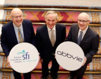 Minister Bruton announces new AbbVie and Science Foundation Ireland investment of €10 million in two new research collaborations
