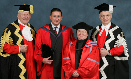 Coltraco Ultrasonics CEO receives Honorary Doctor of Science for his commitment to R&D and British talent