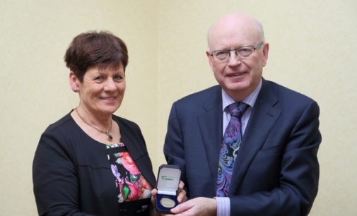 Teagasc Gold Medal For 2017 Awarded to Connie Conway