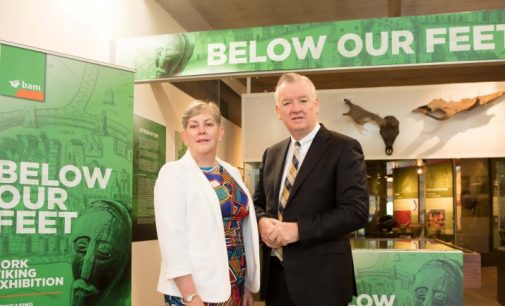 BAM and Cork City Council Launch 'Below our Feet' Exhibition of Cork's Unearthed Viking History