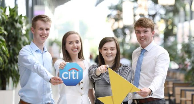 Launch of Citi Ireland's Pathways to Progress Partnership With Enactus Ireland For 2018-2019