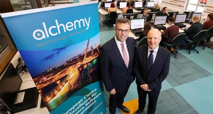 250 New Jobs Announced by Alchemy in Major Investment in Northern Ireland