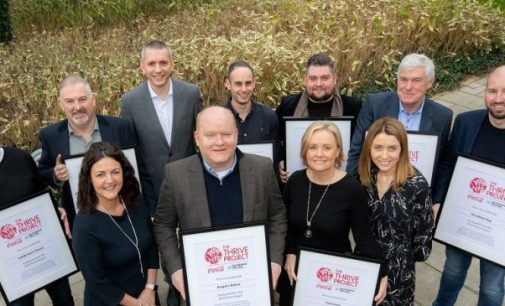 Coca-Cola and Enterprise Ireland Celebrate Graduates of 2018 Thrive Project