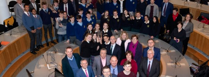 Fingal Celebrates a Quantum Leap in Success For BT Young Scientist of the Year Adam Kelly
