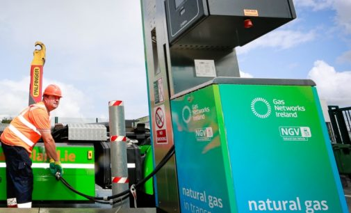 Gas Networks Ireland Grants €120,000 to Fund Natural Gas Vehicles
