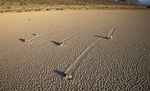 Mystery solved: 'Sailing stones' of Death Valley seen in action for the first time
