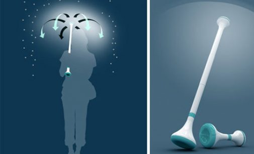 Air umbrella surpasses kickstarter fund target