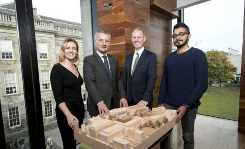 €100 Million Investment For Four Capital Developments at Trinity College Dublin