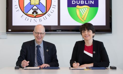 University College Dublin Strengthens Links With University of Edinburgh
